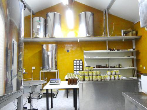 Packaging area